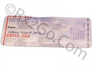 Cefixime 200mg (CEFIX-200)