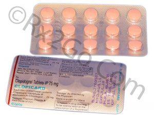 Clopidogrel 75mg (CLOPICARD)
