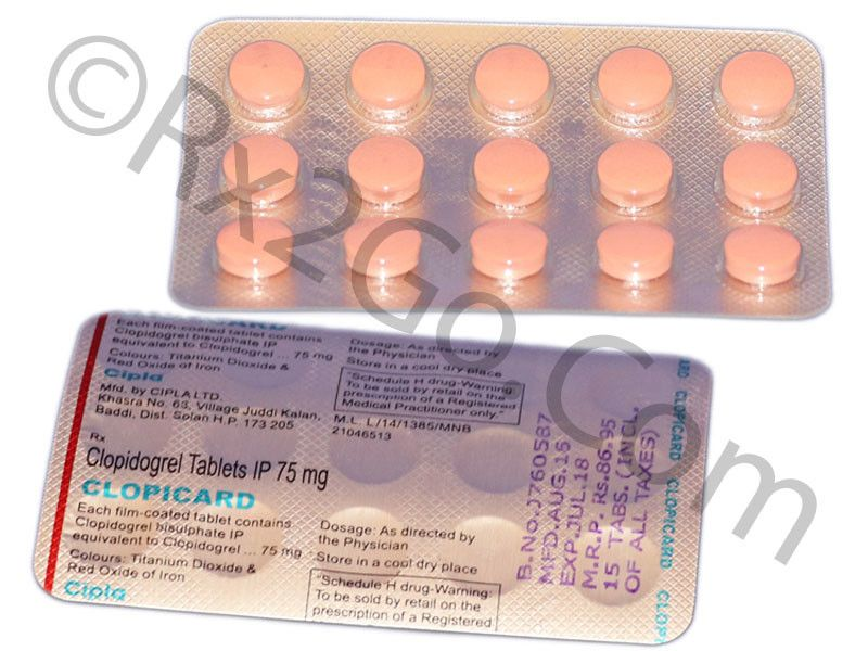 Clopidogrel 75mg