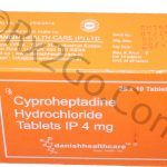Cyproheptadine Hydrochloride 4mg