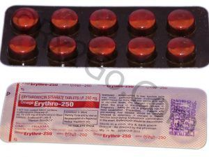 Erythromycin Stearate Tablets IP 250mg