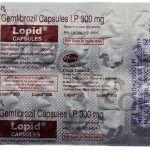 Gemfibrozil-300mg