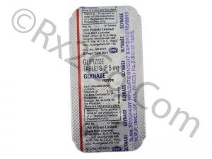Glipizide TABLETS IP 5 mg (GLYNASE)