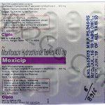 Moxifloxacin (Moxicip)