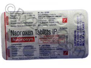 Naproxen (Naprosyn)