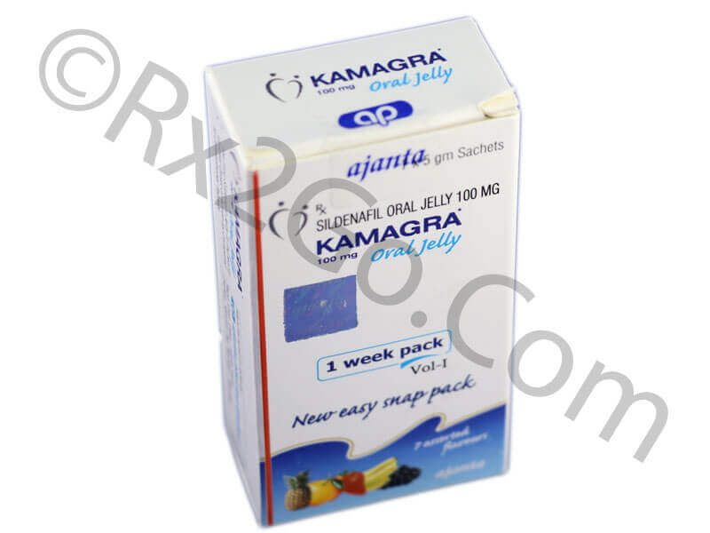 Sildenafil-Kamagra Jelly-100mg