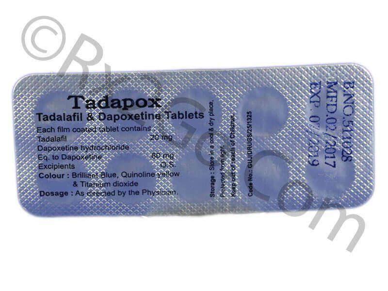 Tadalafil & Dapoxetine-20mg-80mg