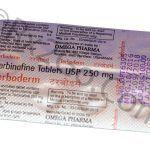Terbinafine (Terboderm)