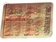 Tetracycline (TETRACIN 500)