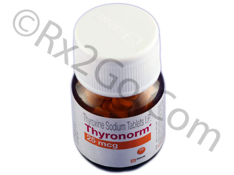 Thyroxine-25mcg