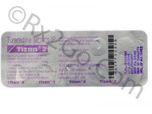 Buy Tizanidine (TIZAN)